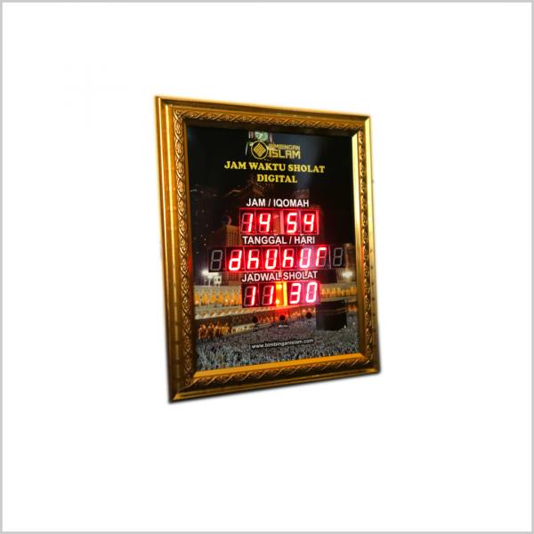 Jam Digital Waktu Sholat Murah (Cocok Untuk Rumah & Kantor)